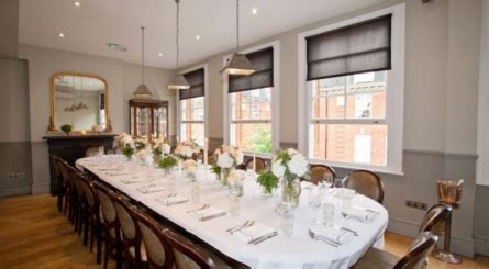 luxury private dining party rooms in chelsea