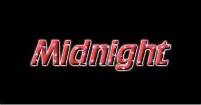 Midnight Logos Text