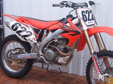 Honda 450cc Crf450r 5 2006 For Sale In Toowoomba