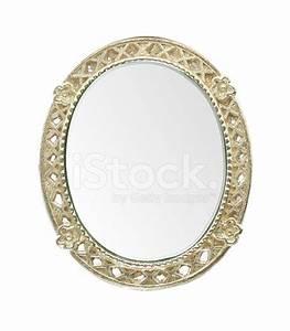 Spiegel Goldrahmen : ovaler spiegel mit goldrahmen stock photos ~ Pilothousefishingboats.com Haus und Dekorationen