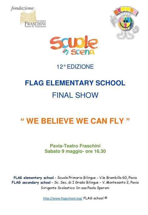 flag school pavia programma di sala elementary by flag school issuu