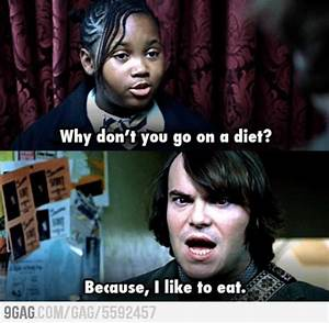 School Of Rock Jack Black Quotes. QuotesGram