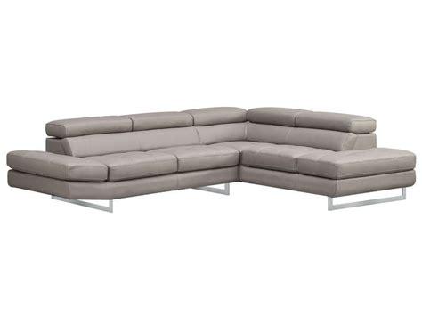 canapé 5 places droit canapé d 39 angle fixe droit 5 places en cuir leman coloris