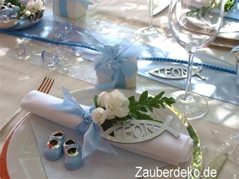 taufe dekoration tisch set 25 personen blau tischdeko taufe junge gastgeschenke kommunion baby taufe komplettsets