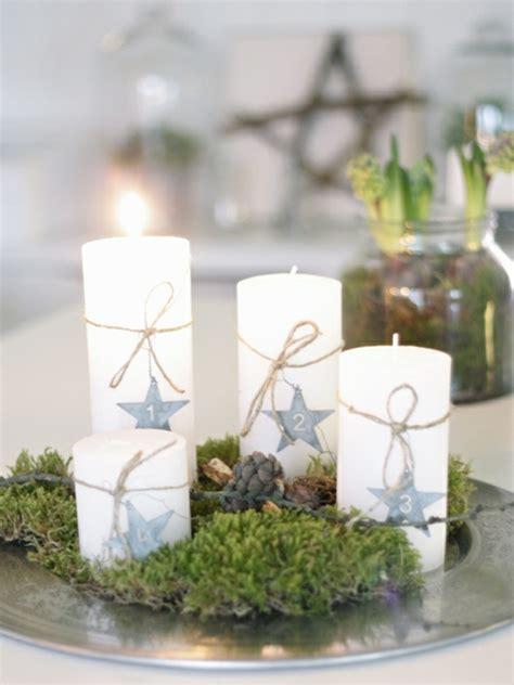 moderne weihnachtsdeko basteln 40 adventskranz ideen und die geschichte des adventskranzes