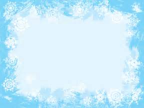 wedding websites free light blue snowflake frame ppt backgrounds blue border