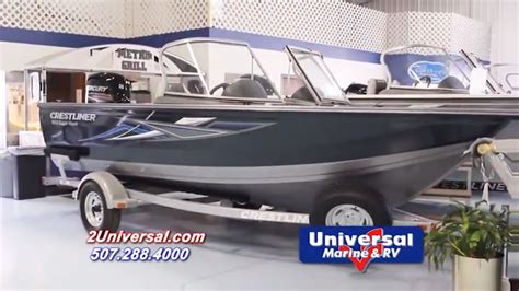 Boats For Sale Rochester Mn by 2016 Crestliner 1650 Superhawk Wt Fishing Boat For Sale
