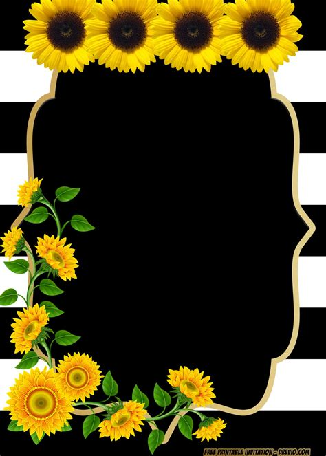 printable beautiful flower baby shower invitation