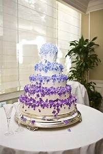 Royal Blue And Purple Wedding Cake - doulacindy.com ...