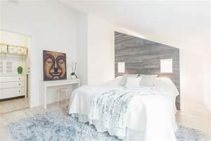 amenagement de combles 60 idees pour chaque piece With tapis rouge avec tete de lit canapé