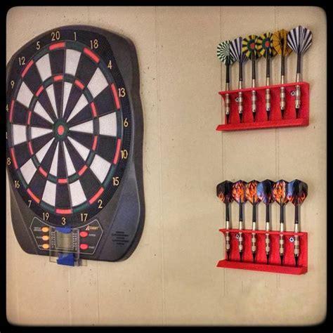 3d printable wall mounted dart holder by raleigh shade