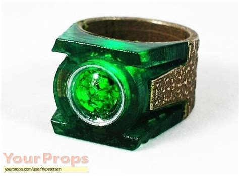 green lantern green lantern power ring replica prop