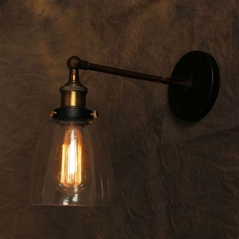 vintage wall l american style industrial edison ls