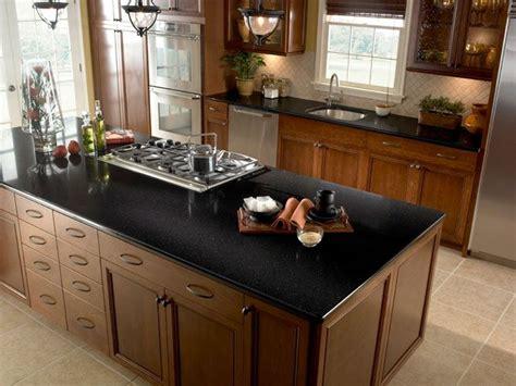 black countertop options best 25 black kitchen countertops ideas on