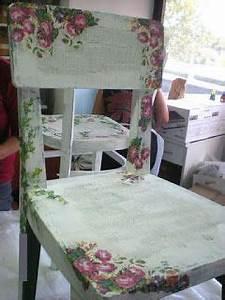 Shabby Chic Stühle : decoupage chair craft ideas pinterest m bel st hle and shabby chic m bel ~ Orissabook.com Haus und Dekorationen