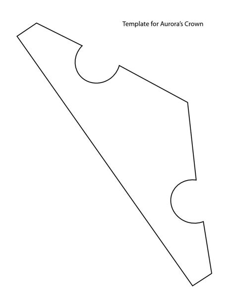 Princess Cut Out Template by Best 20 Crown Template Ideas On Crown Pattern