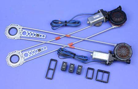 Spal Deluxe Power Window Kits