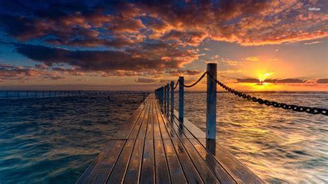 sunset beach wallpaper hd downloadwallpaperorg