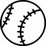 Ball Icon Baseball Svg Training Tenis Km