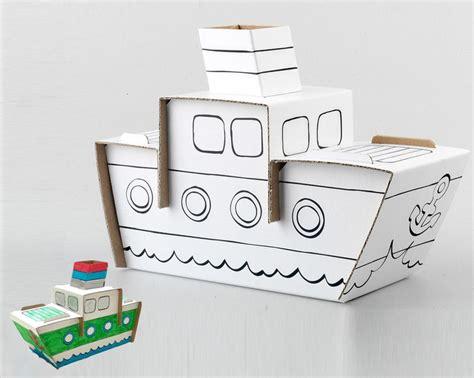 Imagenes De Barcos De Carton by M 225 S De 25 Ideas Incre 237 Bles Sobre Barcos De Cajas De Cart 243 N