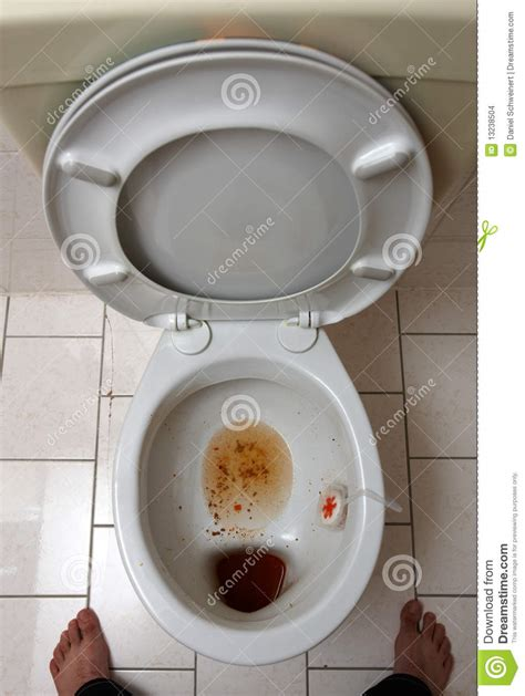 Dirty Toilet Stock Images  Image 13238504