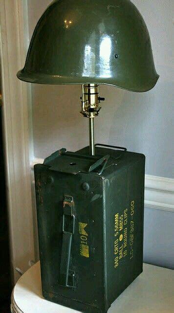 ammo  lamp woodworking pinterest box reuse  craft