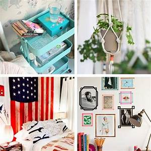 25 creative diy ideas decorating tips for your dorm room for Diy dorm decorating ideas