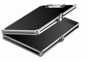 vaultz locking storage clipboard case box travel safe With locking document case