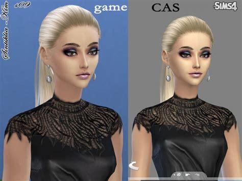 sims  hairs  sims resource straight ponytail