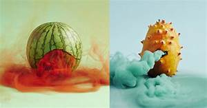 The Mystical Origins Of Fruit And Vegetables Photographed
