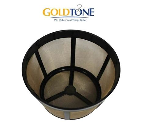 This coffee bar is fantastic for coffee and tea lovers, with its reusable filter for brewing coffee and second reusable filter for brewing tea. (2) GoldTone Reusable 8-12 Cup #4 Cone Coffee Filter fits Ninja Coffee Maker for sale online | eBay