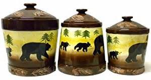 black canister sets for kitchen rustic cabin black kitchen canister 3 pc set electronics