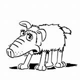 Sheep Shaun Coloring Pages Slip Drawing Movie Getcoloringpages Clipartmag sketch template