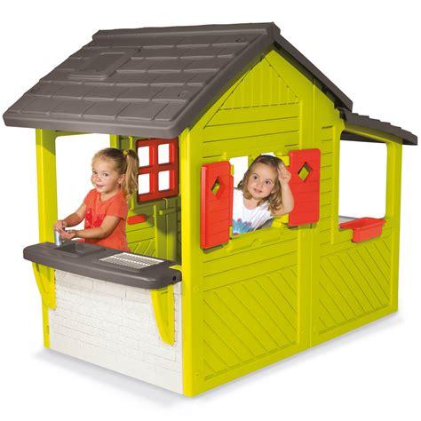 Smoby Spielhaus Floralie Neo Haus Gartenhaus Kinder
