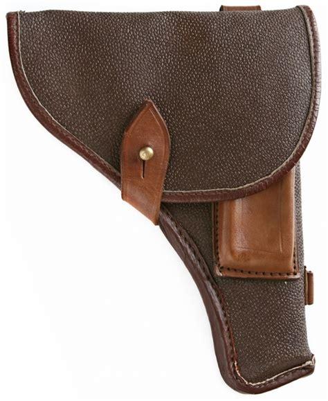 genuine leather belt soviet army tt 33 handgun holster