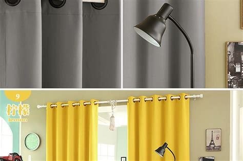 Solid Color Thermal Insulated Blackout Curtains 8 Grommets Solid Color Drapes Modern Window Mocha Shower Curtain Silver Double Rod Plastic Patio Curtains Designer Uk Striped Fabric Extra Long Black White And Yellow Clothes Designs