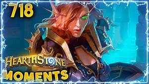So lucky!! BLESS RNG!! | Hearthstone Daily Moments Ep. 718 ...