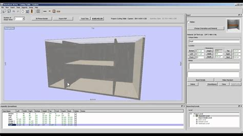 furniture design software insert boards youtube