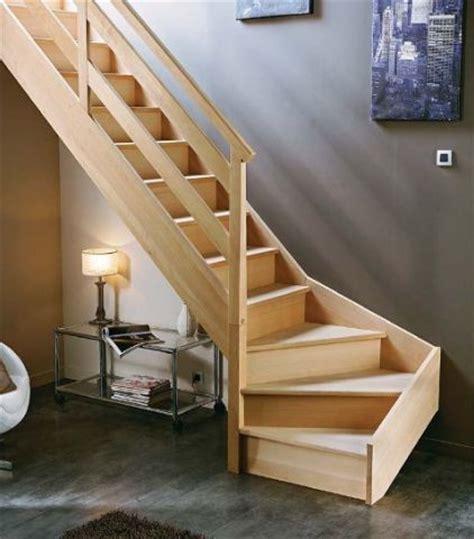 escalier deux quart tournant pas cher poser un escalier quart tournant 26 messages