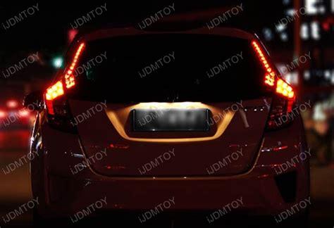 install honda fit led rear pillar light tail light jdm