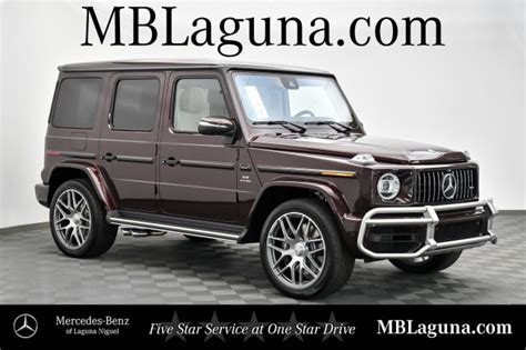 Physics, prepare to be defied. New 2021 Mercedes-Benz G-Class AMG® G 63 SUV AWD in Laguna ...