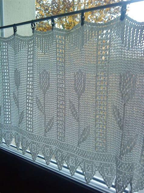 rideau macramé cuisine 17 meilleures idées à propos de rideaux en crochet sur