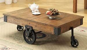 pallet coffee table on wheels pallet wood projects With modern coffee table with wheels