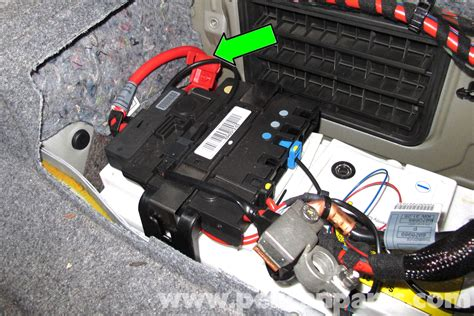 bmw  battery replacement    pelican parts diy maintenance article