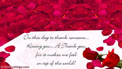 Thank You Love Free Thank You Ecards Greeting  Ee  Cards Ee