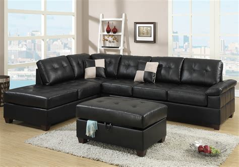 hton leather reversible sectional and storage ottoman new reversible sectional sofa chaise storage ottoman