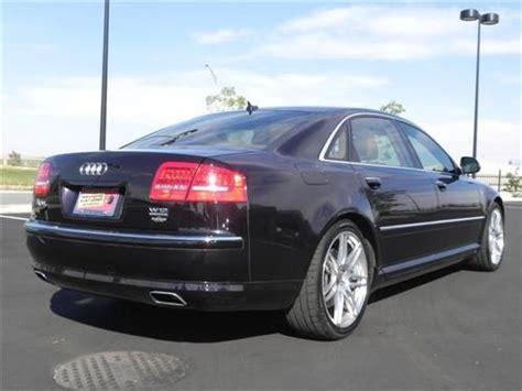 how make cars 2008 audi a8 transmission control sell used 2008 audi a8l w12 luxury sedan cherry black 12 cylinder 6 0 liter in casper wyoming