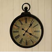 Wall Clocks Large by Antique Style Pocket Watch Large Wall Clock By Jones And Jones Of Berwick Upo