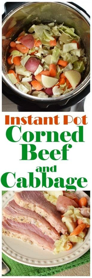 Just good, tender, juicy corned beef! Instant Pot Corned Beef and Cabbage Recipe | This Mama Loves