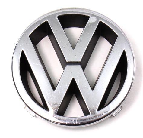 first volkswagen logo genuine vw front grill grille emblem 96 99 jetta mk3 191